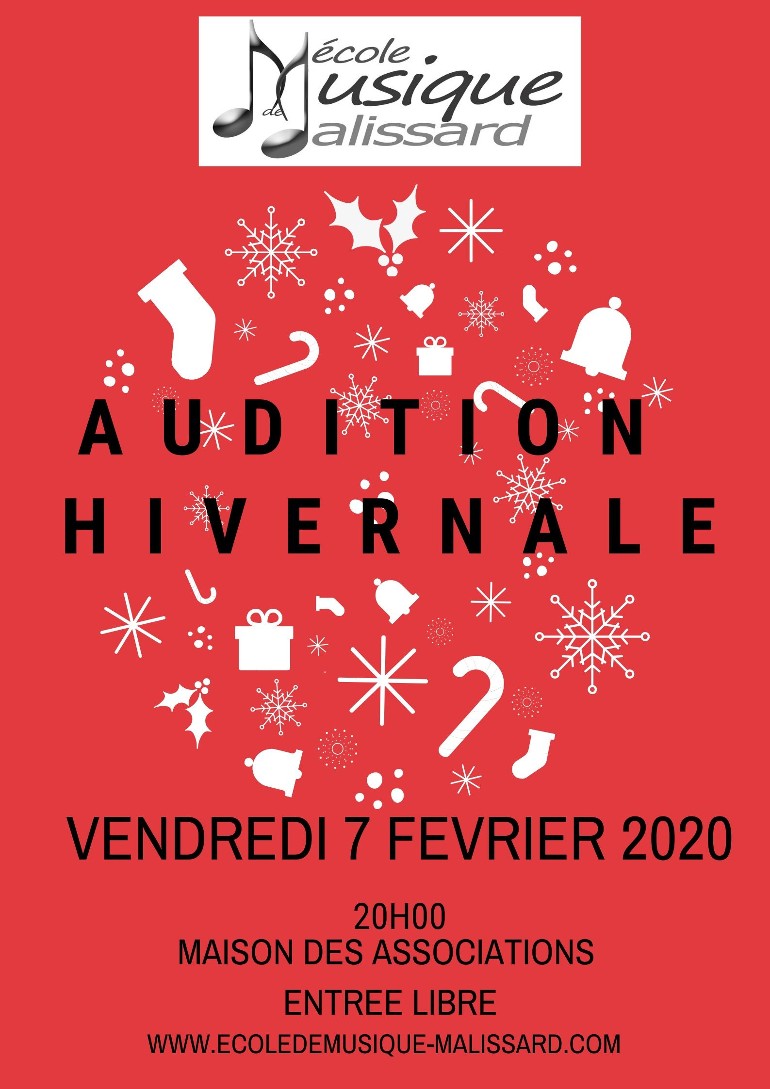 Audition hivernale2020